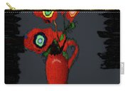 Abstract Floral Art 91 Carry-all Pouch