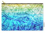 Abstract Floral Dl312016 Carry-all Pouch