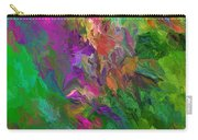Abstract Floral Fantasy 071912 Carry-all Pouch