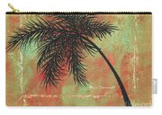 Abstract Floral Fauna Palm Tree Leaf Tropical Palm Splash Abstract Art By Megan Duncanson  Carry-all Pouch