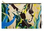 Abstract Flow Green-blue Series No.1 Carry-all Pouch
