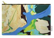 Abstract Flow Green-blue Series No.2 Carry-all Pouch