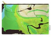 Abstract Flow Green-blue Series No.3 Carry-all Pouch