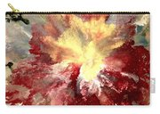 Abstract Flower Carry-all Pouch by Denise Tomasura
