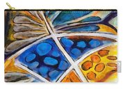 Abstract Flower Carry-all Pouch