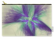 Abstract Flower Sway Carry-all Pouch