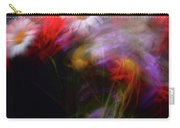 Abstract Flowers One Carry-all Pouch