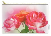 Abstract Flowers Spring Background Carry-all Pouch