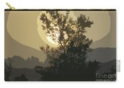 Abstract Foggy Sunrise Carry-all Pouch