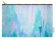 Abstract Frost 1 Carry-all Pouch