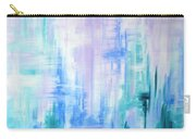 Abstract Frost 2 Carry-all Pouch