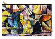 Abstract Fruit Still Life Carry-all Pouch