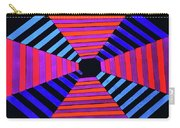 Abstract Fun Tunnel Carry-all Pouch