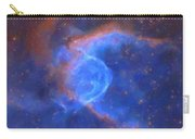 Abstract Galactic Nebula With Cosmic Cloud 10 Xl Carry-all Pouch by Celestial Images