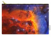 Abstract Galactic Nebula With Cosmic Cloud 5 Carry-all Pouch by Celestial Images