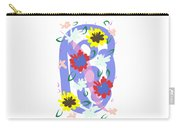 Abstract Garden #1 Carry-all Pouch by Bee-Bee Deigner