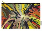 Abstract Garden Defined Carry-all Pouch