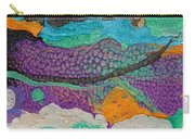 Abstract Garden Of Thoughts Carry-all Pouch by Julia Apostolova
