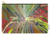 Abstract Garden Wrapped Carry-all Pouch