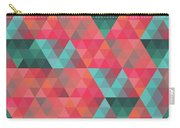 Abstract Geometric Colorful Endless Triangles Abstract Art Carry-all Pouch