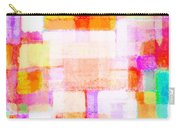 Abstract Geometric Colorful Pattern Carry-all Pouch