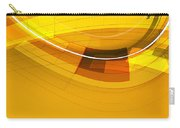 Abstract Golden Arcs And Lines Carry-all Pouch