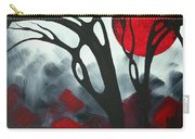 Abstract Gothic Art Original Landscape Painting Imagine I By Madart Carry-all Pouch