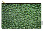 Abstract Green Alien Bubble Skin Carry-all Pouch