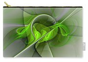 Abstract Green Fractal Art Carry-all Pouch