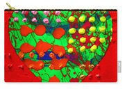 Abstract Haert 80218 Carry-all Pouch