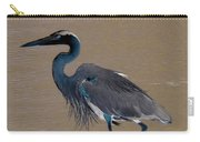 Abstract Heron Art Carry-all Pouch