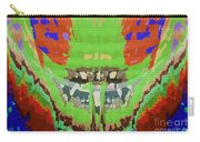Abstract Holistic Vallely Graphic Painting Inspiration From Sargada Temple  Lights N Shades Sagrada  Carry-all Pouch