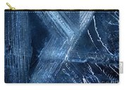 Abstract Ice. Darkness Carry-all Pouch