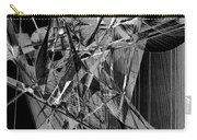 Abstract In Black And White 2 Carry-all Pouch