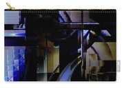 Abstract In Blue-dark Towers Carry-all Pouch