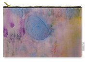 Abstract In Red, Blue, And Yellow Carry-all Pouch