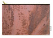 Abstract In Rust Carry-all Pouch
