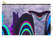 Abstract In The Clouds Carry-all Pouch