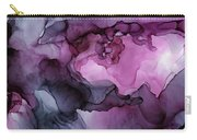 Abstract Ink Painting Plum Pink Ethereal Carry-all Pouch