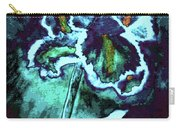 Abstract Iris Carry-all Pouch