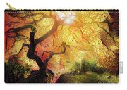 Abstract Japanese Maple Tree 2 Carry-all Pouch