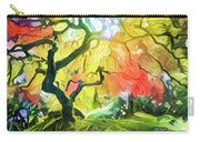 Abstract Japanese Maple Tree 5 Carry-all Pouch