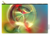 Abstract Karma Wheel Carry-all Pouch