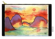 Abstract Landscape 006 Carry-all Pouch