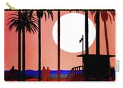 Abstract Landscape Beach Art 3 - By Diana Van Carry-all Pouch