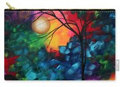 Abstract Landscape Bold Colorful Painting Carry-all Pouch by Megan Duncanson