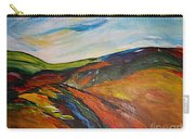 abstract landscape-Haloze Carry-all Pouch