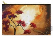 Abstract Landscape Painting Empty Nest 12 By Madart Carry-all Pouch by Megan Duncanson