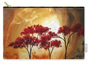 Abstract Landscape Painting Empty Nest 2 By Madart Carry-all Pouch