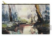 Original Watercolor Painting. Abstract Watercolor Landscape Painting Carry-all Pouch